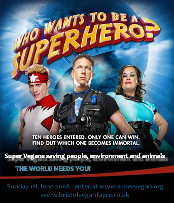 Super Vegan Superheroes Battle