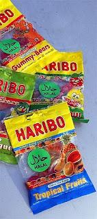 vegetarian vegan haribo jelly sweets gelatine free