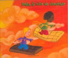 """""""KOFU: EL NIÑO DE CHOCOLATE"""" Hermosas ilustraciones, trata el tema de la tolerancia."""