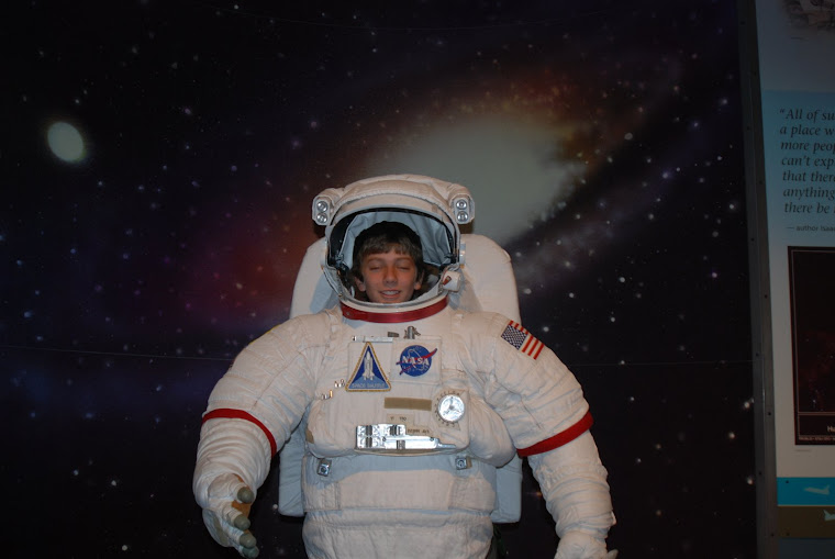 You didn't know I was an astronaut?