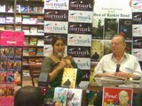 With Ruskin Bond in a Book Launch