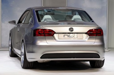 2010 2011 Volkswagen New Compact Coupe Concept Revealed (details and photos)