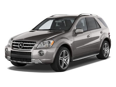 The 2010 M-Class is a 4-door, 5-passenger luxury sport-utility, available in 4 trims, ranging from the ML350... read more BlueTEC to the ML63 AMG.   Upon introduction, the ML350 BlueTEC is equipped with a standard 3.0-liter, V6, 210-horsepower, turbo, diesel engine that achieves 18-mpg in the city and 25-mpg on the highway. The ML63 AMG is equipped with a standard 6.2-liter, V8, 503-horsepower engine that achieves 11-mpg in the city and 15-mpg on the highway. A 7-speed automatic transmission with overdrive is standard on both trims.