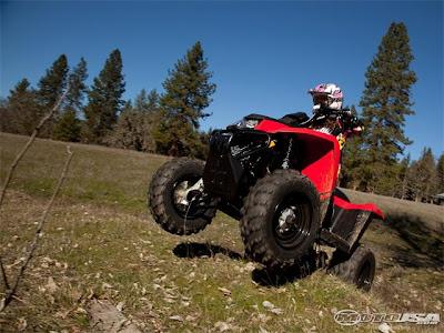 2010 Polaris Trail Blazer 330 First Ride Picture