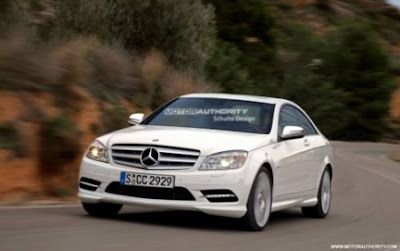 Mercedes C-Class: the Coupé will start production in 2011