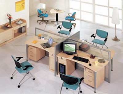 Minimalist interior and furniture trends 2009 2010 many for Office arrangements small offices