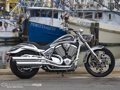 2009 Victory Cory Ness Vegas Jackpot First Ride