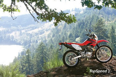 2009 HondaCRF230L Review and Specs