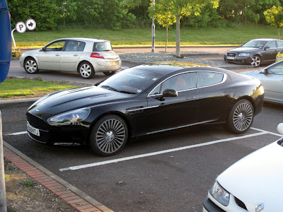 Aston Martin Rapide 2009 Uncovered Spy Photo