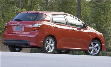 New Toyota Matrix 2009 2010 Reviews