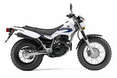 New Yamaha Dual Purpose TW200 2009 2010 Reviews and Specification