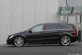 2010 Mercedes R-Class Facelift,Reviews and Specification