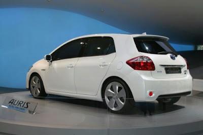 2010 Toyota Auris HSD Full Hybrid Concept Headed for Frankfurt