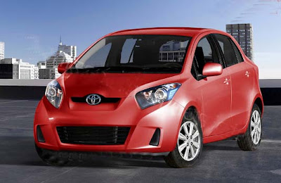 2010 2011 Toyota Yaris: the first graphic reconstruction of the new generation