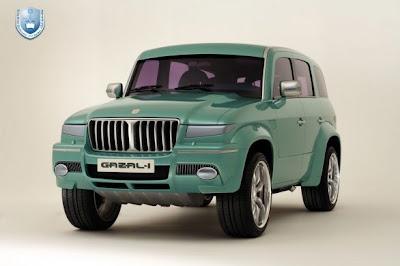 2010 2011 Gazal: soon the first car in the history of Saudi Arabia