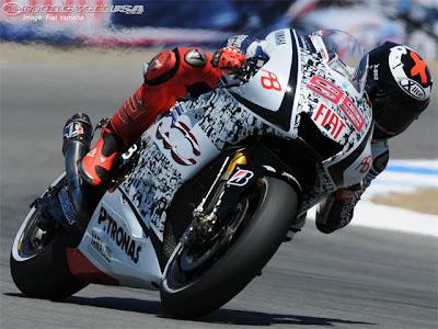 2010 MotoGP - Red Bull Laguna Seca Picture Lorenzo