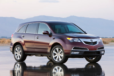 2010 2011 New Acura MDX 6 Speed AT w/Tech Package: Reviews, Price and Engine Specification