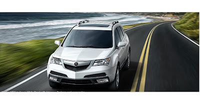New 2010 2011 Acura MDX with Advance and Entertainment Packages $54,105