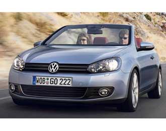2011 Volkswagen Golf Cabriolet: production will start in spring 2011