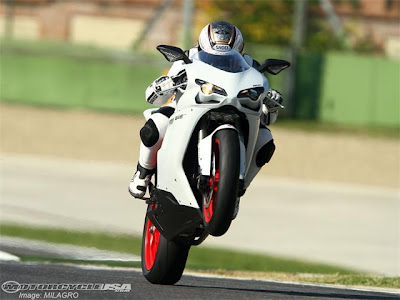 2011 New Ducati 848 EVO Superbike First Ride Photo Gallery