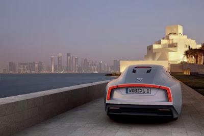 2011 Volkswagen Formula XL1 debuts in Qatar