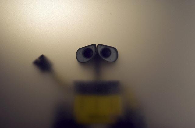 ВАЛЛ-И в тумане