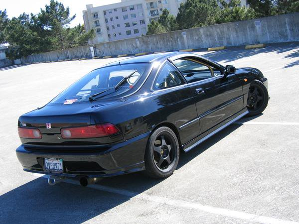 black acura integra jdm. old projects 1994 acura integra black jdm u
