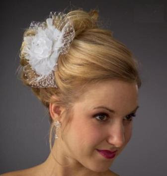 elegant wedding hairstyle