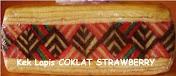 Kek Lapis COKLAT STRAWBERY