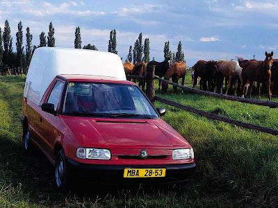 1999 Skoda Felicia Fun. 1999 Skoda Felicia Pickup