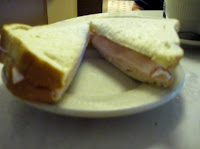 Click to enlarge – Turkey sandwich, plain.
