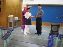 Majlis Penyampaian hadiah