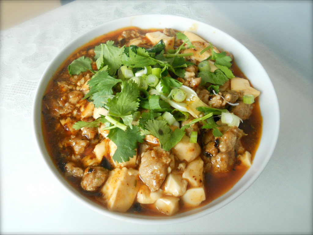 ... Food Reviews and Recipes Blog: Easy way making fiery Mapo tofu recipe