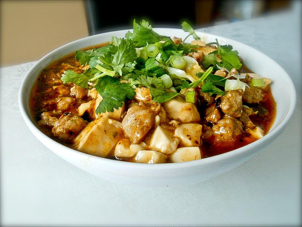 Easy way making fiery Mapo tofu recipe