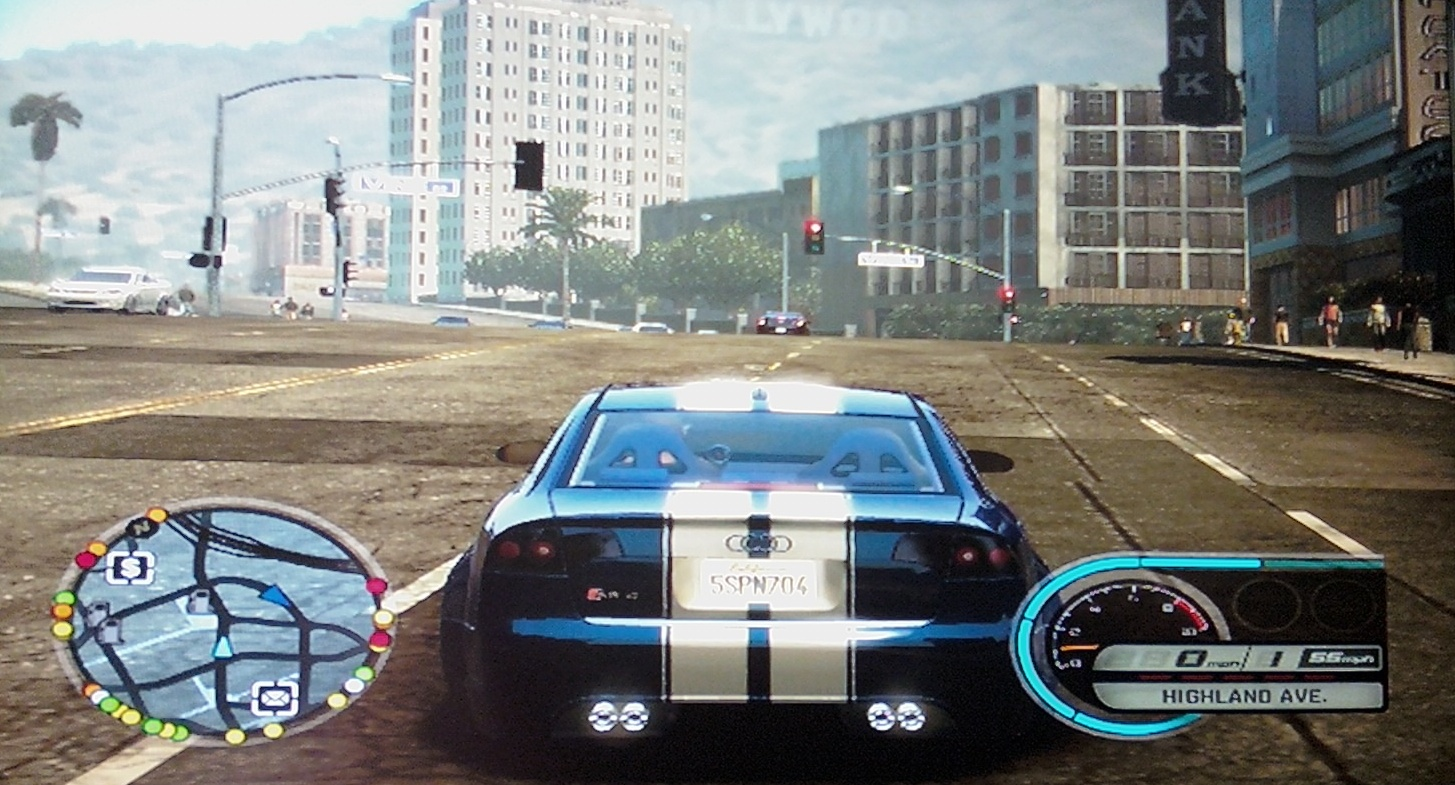 how to play midnight club los angeles xbox 360