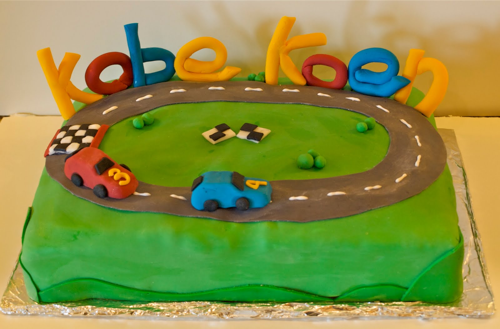 Birthday Cake For Boy 3 Years Old ~ Kate s cakes april