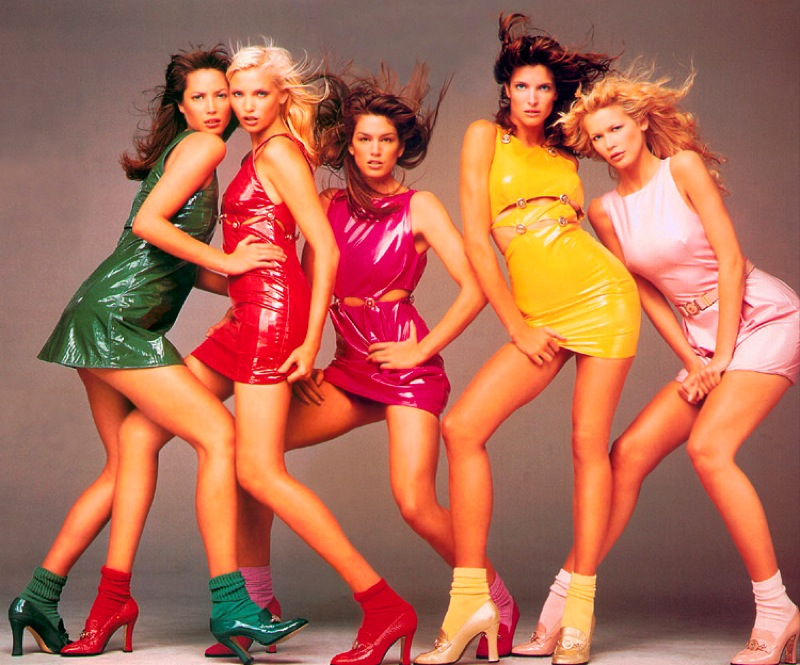 photo of girls 80's style № 1258