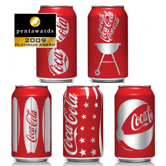 Coke Summer Cans
