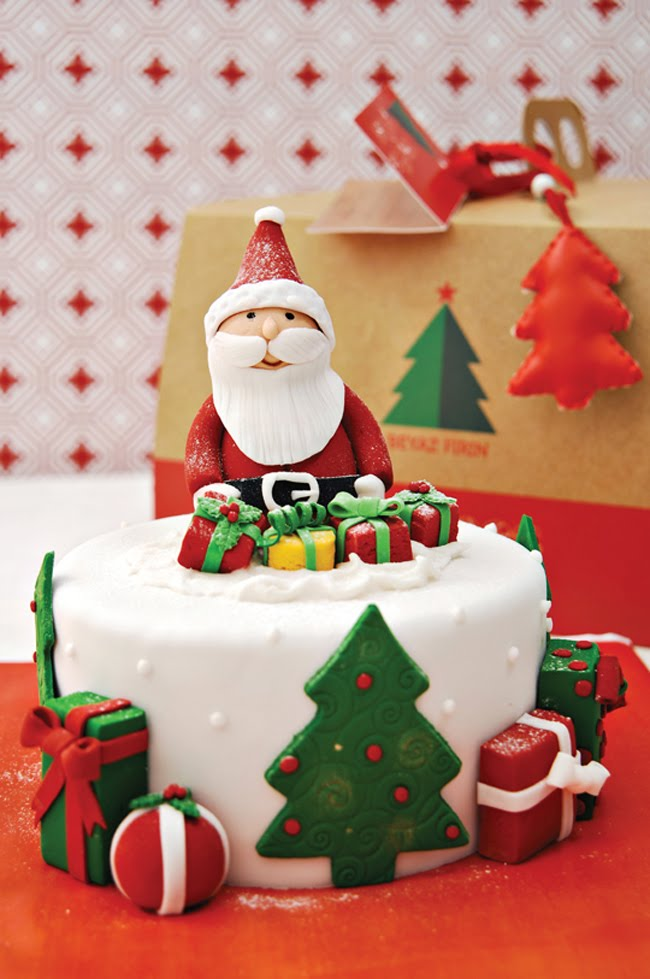 Christmas Cake Decorating Ideas Without Fondant : Christmas Cake Decorating Ideas Without Fondant: Latest ...