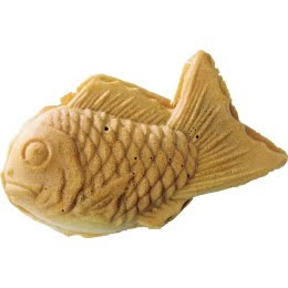 Skin care fashion and food taiyaki red bean fish for Fish shaped bread