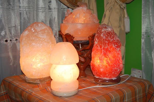 Lampu Garam Bukit Tulen Himalaya