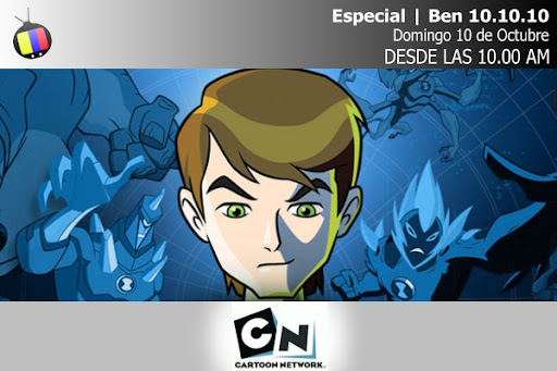 Especial de Ben 10 por Cartoon Network y estreno de nueva temporada el 10.10.10