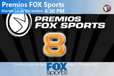 Martes 14/12: Premios FOX Sports