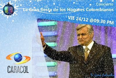 Viernes 24/12: La fiesta de los Hogares Colombianos
