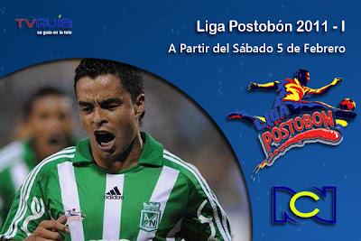 SAB 5 y DOM 6/FEB: Arranca la Liga Postobón 2011-1