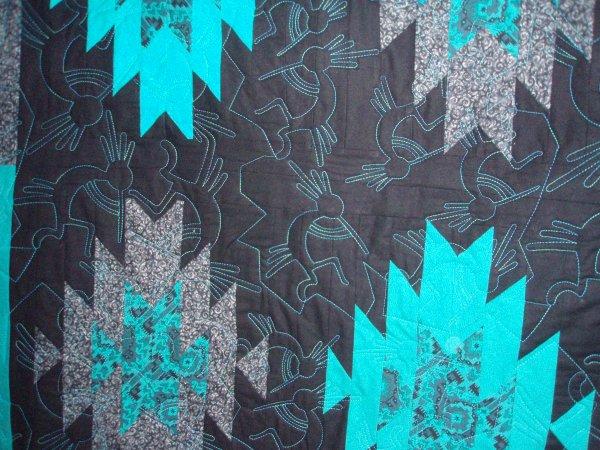 Kokopelli Quilt Pattern & Southwestern Art Quilt Pattern Kokopelli ... : kokopelli quilt pattern - Adamdwight.com