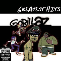 Cd Gorillaz  Greatest Hits 2010