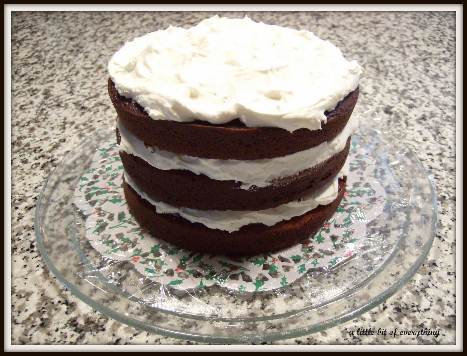 a little bit of everything: Recipe: Sour Cream Chocolate Cake