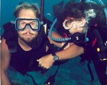 Diving w/ Denalee in Guam