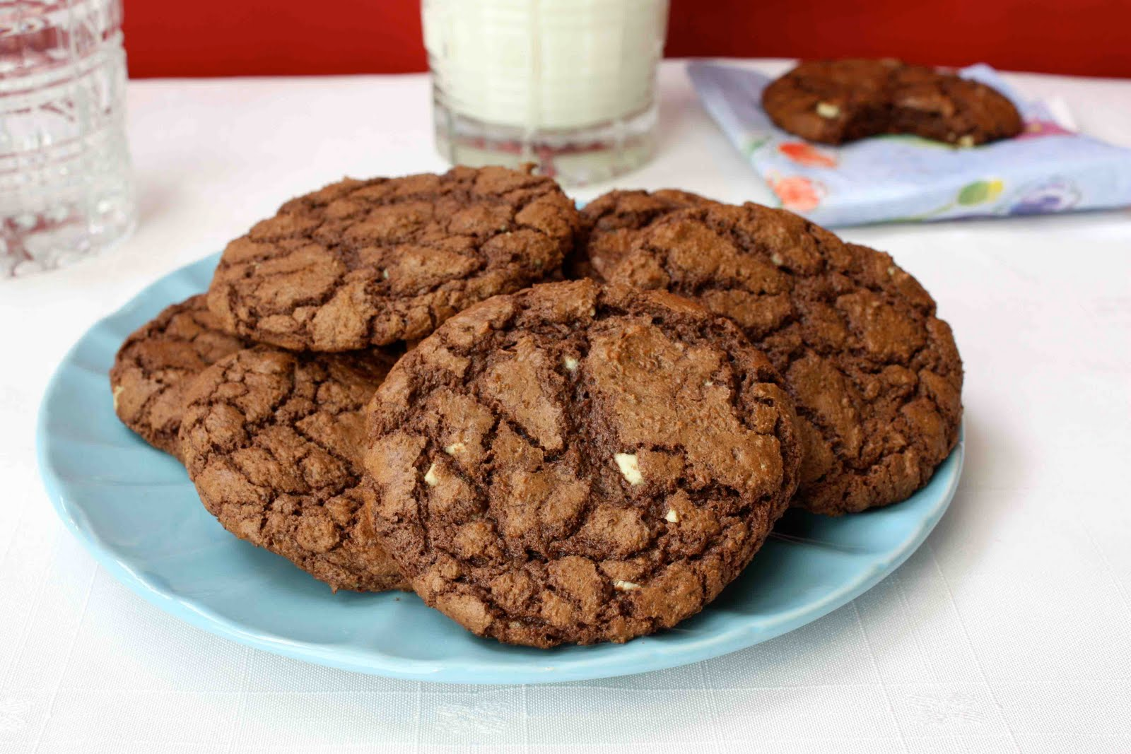 Triple Chocolate Mint Cookie Recipe | Cookin' Canuck